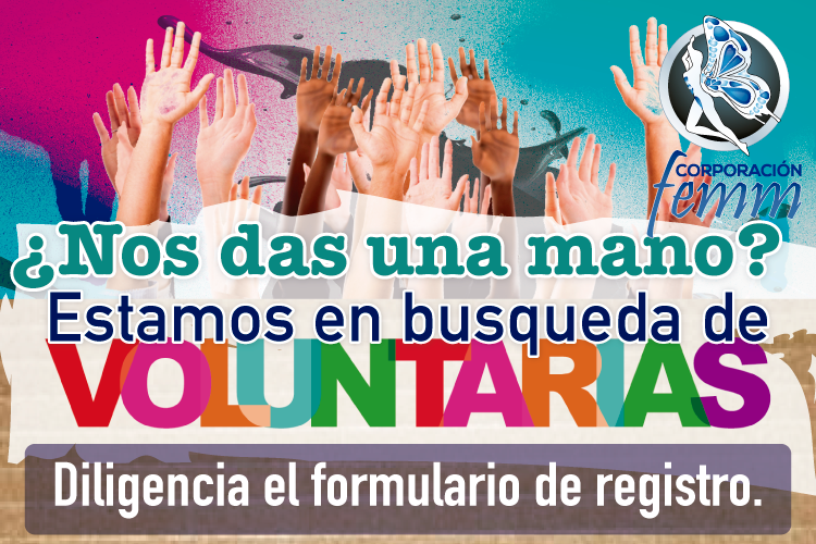 Slide Voluntarias